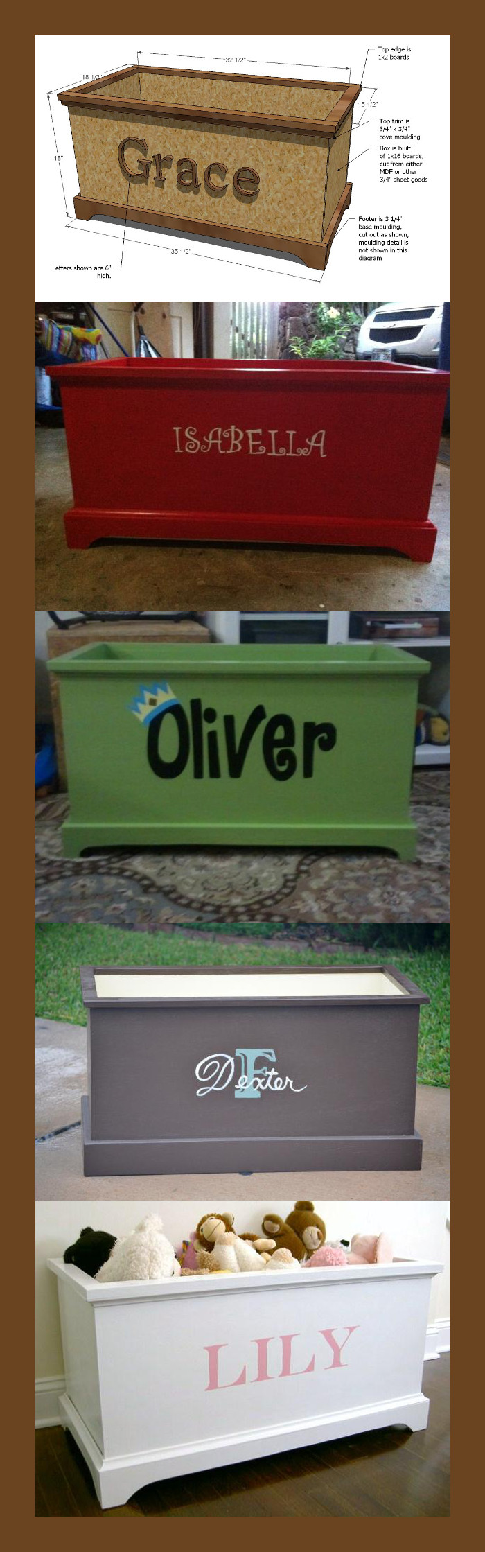 DIY Toy Box for your Dog's Toys